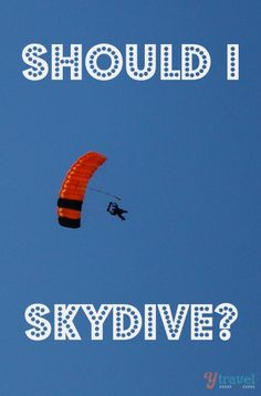 Should I skydive the Great Barrier Reef in Australia? http://www.ytravelblog.com/should-i-skydive-the-great-barrier-reef/