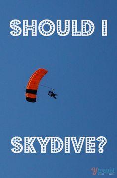Should I skydive the Great Barrier Reef in Australia? http://www.ytravelblog.com/should-i-skydive-the-great-barrier-reef/
