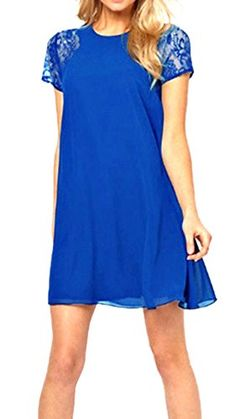 ABUSA Womens Dresses Casual Summer Special Occasion Chiff... http://www.amazon.com/dp/B00XKZG8RG/ref=cm_sw_r_pi_dp_.iphxb1893EEK