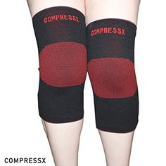 Knee Support/Knee Sleeves (Pair) for Joint Pain and Arthritis Relief, Improved Circulation Compression - Knee Brace for Running, Jogging, Workout, Walking, Hiking and Recovery (Medium) *** Find out more about the great product at the image link.