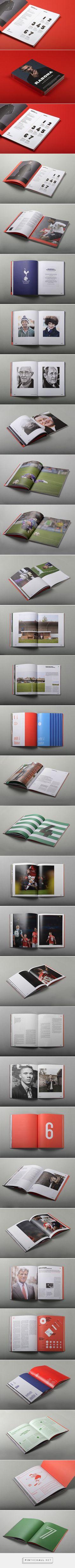 Editorial Design Inspiration: Rabona Magazine | Abduzeedo Design Inspiration