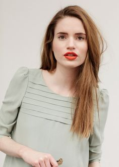 inspiration for a simple Mathilde blouse