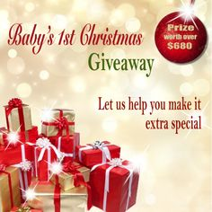 Win a Beautiful 'Baby's 1st Christmas' Collection Worth Over $680