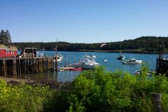 cutler maine | The small harbor in Cutler, Maine.