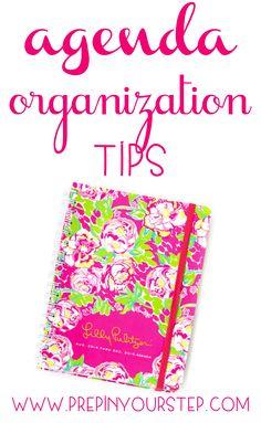 Prep In Your Step: Agenda Organization Tips & Tricks