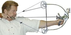 World's Smallest, Lightest, Compound bow at full draw