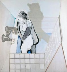 Teresa Pagowska, Bath / Kąpiel on ArtStack Bath, Artist, Painting, Bathing, Artists, Painting Art, Paintings, Bathroom, Painted Canvas