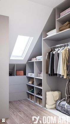 Total Dimension Of Dressing Room Mirror Ideas Little Vanity Table Tool With Furniture Enjoyable Drawers Modern Design Contemporary Establish. schrank Dressing Room Design for Inspiration You Attic Loft, Loft Room, Attic Rooms, Attic Spaces, Closet Bedroom, Cozy Bedroom, Bedroom Small, Ikea Bedroom, Master Closet