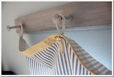 Laundry Room Curtains With A Nautical Flair
