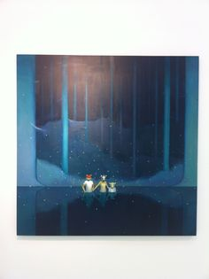 Chen Zhuo, An Intellectual Game, Oil on Canvas, 2012, Gallery Yang