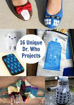 Don't Blink: 16 Unique Doctor Who Crafts - diycandy.com