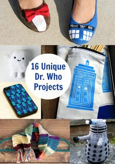 For the nerdy hubby...Don't Blink: 16 Unique Doctor Who Crafts - diycandy.com