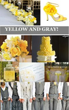 It's something I've thought about. Because gray is my favorite color. But a lighter yellow because I would not look very good in that shade. But I like these colors so much.