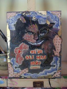 White Rabbits, Paintings, Fantasy, Halloween, Home Decor, Art, White Bunnies, Art Background, Painting Art