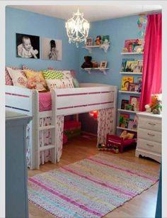 Low bunk bed