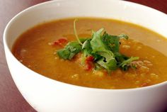 Ravi's Curried Red Lentil and Apricot Soup