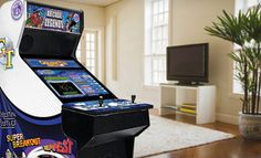 Groupon - $2,599 for Arcade Legends 3 Multigame Machine ($3,882.29 List Price). Free Shipping. in Online Deal. Groupon deal price: $2599.00