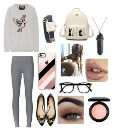 """Winter holiday"" by veronica-busenius on Polyvore featuring ATM by Anthony Thomas Melillo, Markus Lupfer, Kate Spade, Casetify, Tory Burch and MAC Cosmetics"