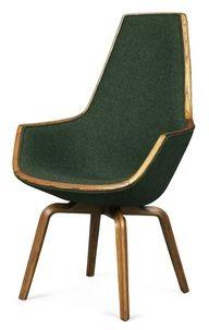 Giraffe Chair by Arne Jacobsen for the SAS Royal Hotel, Copenhagen, Denmark, 1958
