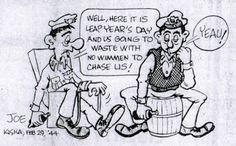 The Way It Was - The Cartoonist - Joe Morgan  Excelsior Springs Standard