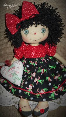 Elf Annie with smocked top by charmingsbycmh
