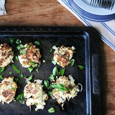 10 Surprising Things To Do With Cauliflower: Crispy Cauliflower Fritters http://www.prevention.com/food/healthy-recipes/surprising-cauliflower-recipes?s=2&cid=NL_ROTD_1947730_12182014_CauliflowerFlaxRiceHed