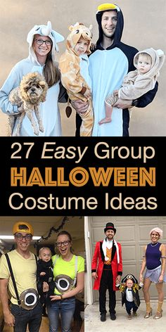 Themed Group Halloween costume ideas for your big or small group of family or friends. Creative themed costumes that are easy to DIY or buy last minute. Cute Group Halloween Costumes, Easy Costumes, Group Costumes, Halloween Cat, Halloween Themes, Costume Ideas, Teen Costumes, Woman Costumes, Couple Costumes
