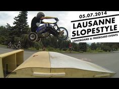 Slopestyle lausanne 2014 - Drift Trike Haute Savoie / RACEKO - YouTube