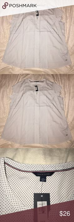 Tommy Hilfiger Top. No sleeves. NWT SZ XXL Tommy Hilfiger Tosca Top. No sleeves. NWT SZ XXL Tommy Hilfiger Tops