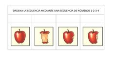 ORDENAMOS SECUENCIAS TEMPORALES fichas 1-10 -Orientacion Andujar Fruit, Toddler Yoga, Preschool Printables