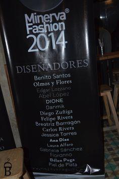 Rueda de prensa Minerva Fashion 2014