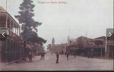 Hargreaves St,Bendigo in Victoria in 1905.