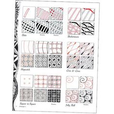 zentangle patterns for beginners - Yahoo Image Search Results