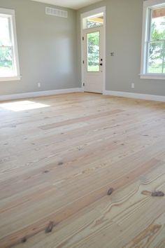 Lumber liquidators: Yellow pine floors finished with tung oil Hardwood, Diy Flooring, Flooring, Painted Floors, House Flooring, Floor Finishes, Wood Floors, Pine Wood, Pine Wood Flooring