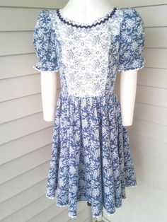 70's square dance/prairie two piece by GenevieveCoolidge on Etsy
