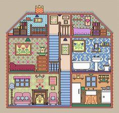 Puppenhaus casa