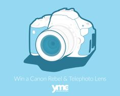 Canon Rebel with Telephoto Lens Canon Rebel T3i, Baby Gear, Lens, Parenting, Canada, Couch Cushions, Babies, Crafty, Random