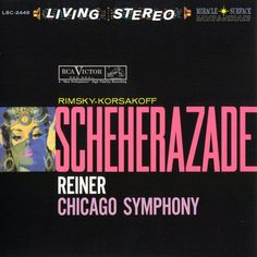 Rimsky-Korsakov - Scheherazade - Reiner - Chicago Symphony Orchestra on 45 RPM 200g 2LP May 19 2017 Pre-order