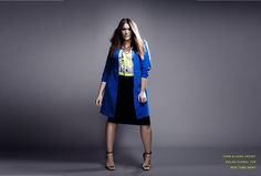 City Chic // Solar Blue // City Chic Your Leading Plus Size Fashion Destination #citychic #citychiconline #newarrivals #plussize #plusfashion