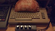 CORNISH PASTY ON A COMMODORE 64 SID RISK | Cornwall: The latest version of 'planking'? (pic. Dinesh Patel Facebook posted 07 January 2019)     ✫ღ⊰n Dinesh Patel, Cornish Pasties, Planking, Cornwall, January, Facebook