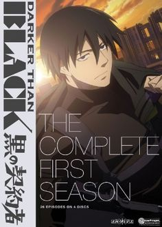 Darker Than Black DVD Complete First Season (Hyb)