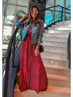 21 Ideas for fashion hijab jeans jackets Modest Fashion, Unique Fashion, Hijab Fashion, Fashion Dresses, Maxi Outfits, Spring Outfits, Casual Dresses, Casual Outfits, Cool Outfits