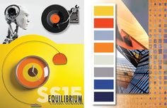 Spring / Summer 2015 Color Inspirations - blue and yellow , orange and neutrals