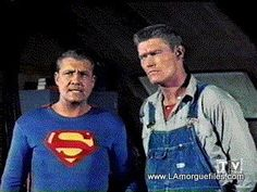Chuck Connor and George Reeves