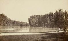 Lac de Saint-Mandé, vue prise de la chausée de l'étang, juin 1865, tiré en 1866 | Photographe : Ildefonse Rousset