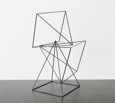 Giant Geometric Sculptures Set of 3 Pyramids in by RagNBoneStudio