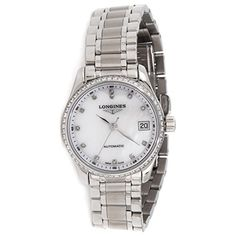 Women's Certified Pre-Owned Watches - Longines Master Collection automaticselfwind motherofpearl womens Watch Certified Preowned >>> You can find more details by visiting the image link.