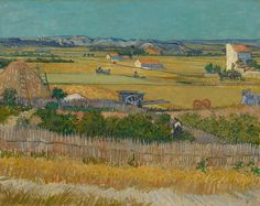 "Van Gogh Museum ‏@vangoghmuseum 12 Ιουν #OnThisDay in 1888 Vincent wrote: ""I have a new subject on the go, green and yellow fields as far as the eye can see"""
