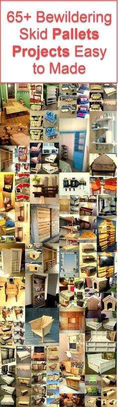 65+ pallet wood ideas