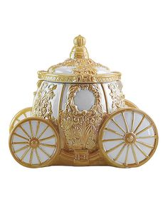 Cinderella Carriage Cookie Jar by Disney Princess #zulily #zulilyfinds